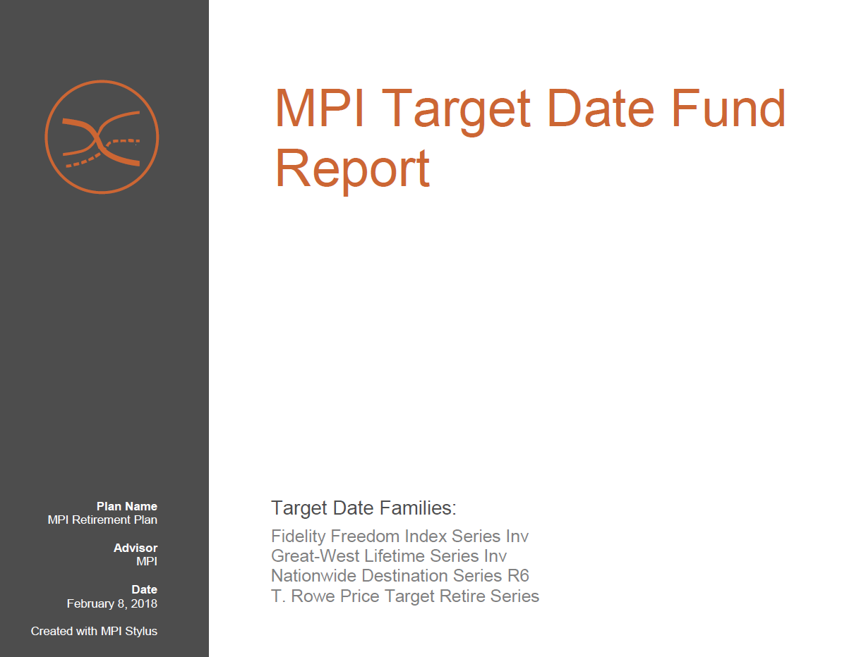 Target-Date Radar   Markov Processes International